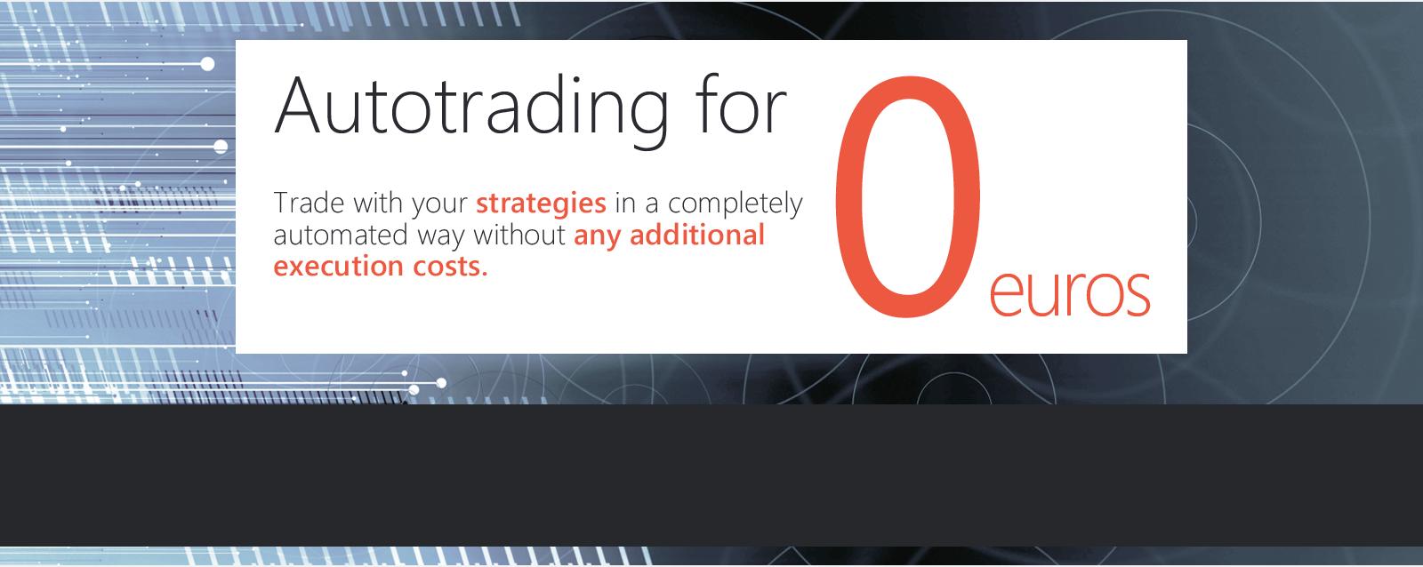 Autotrading–Configure your own strategies' portfolio