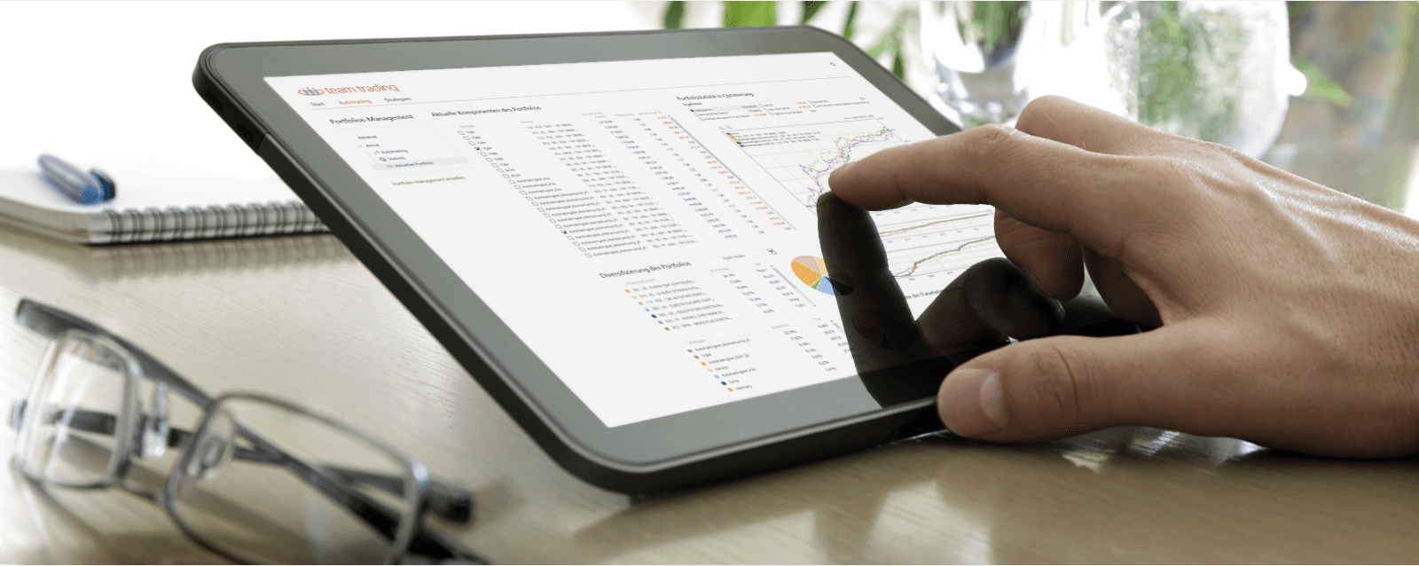 Team Trading Plattform für algorithmisches Trading