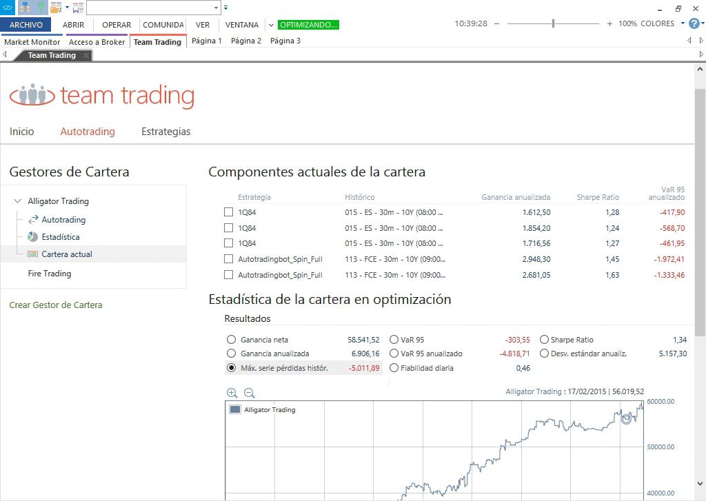 Invierta con la herramienta de trading algorítmico más avanzada del mercado