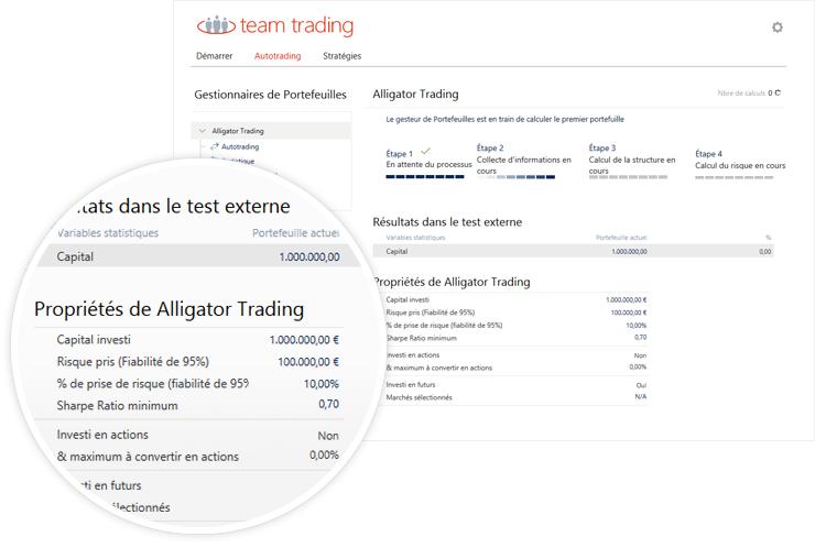 Trading Box créera un portefolio exclusivement conçu pour vous